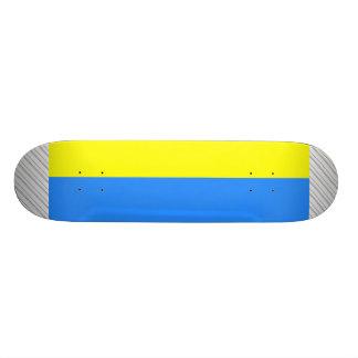 Bandera de Ucrania Tabla De Skate