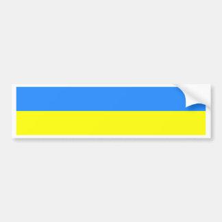 Bandera de Ucrania Pegatina Para Auto