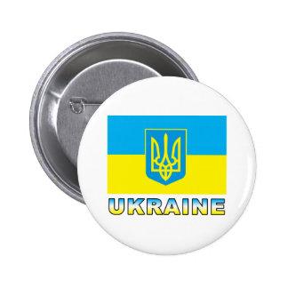 Bandera de Ucrania Pin