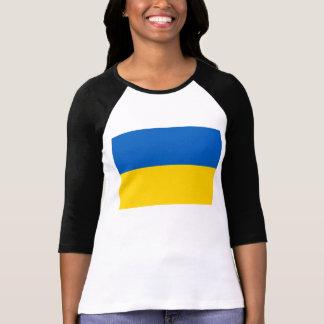 Bandera de Ucrania Camisetas