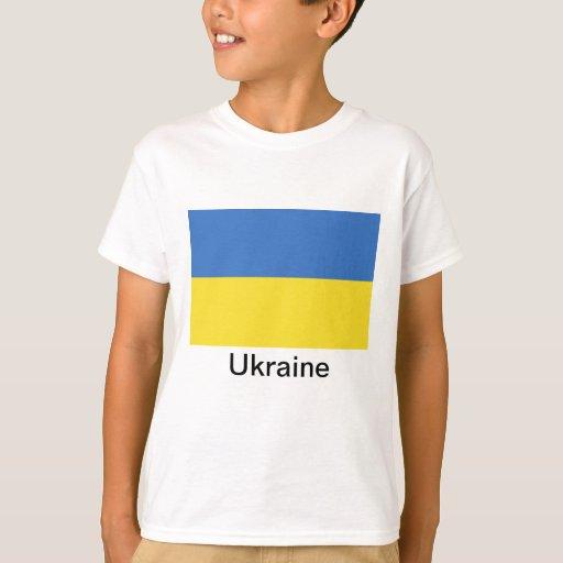 Bandera de Ucrania Playera