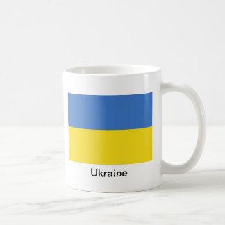 Bandera de Ucrania Taza Clásica