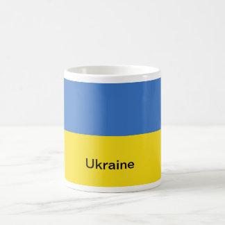 Bandera de Ucrania Taza De Café