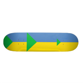 Bandera de Ucrania verde, Ucrania Patin Personalizado
