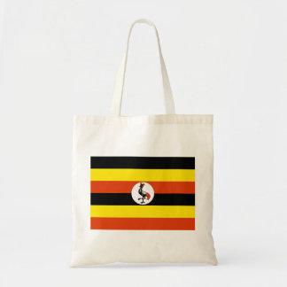 Bandera de Uganda Bolsas Lienzo