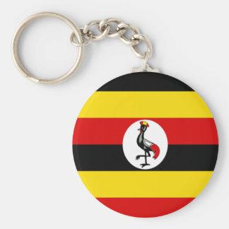 Bandera de Uganda Llavero