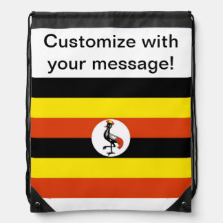 Bandera de Uganda Mochila