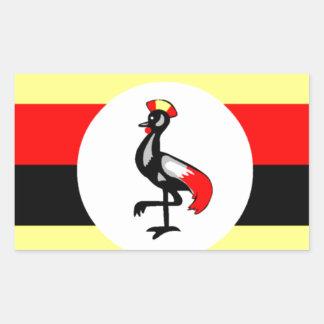 Bandera de Uganda Rectangular Altavoces