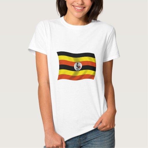 Bandera de Uganda Playera