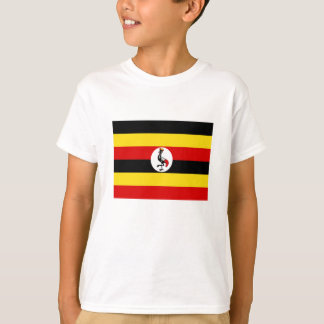 Bandera de Uganda Remeras