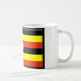 Bandera de Uganda Tazas De Café