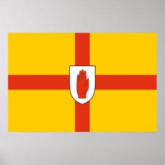 Bandera de Ulster, Irlanda Impresiones