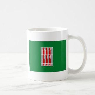 Bandera de Umbría (Italia) Taza De Café