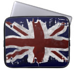 Bandera de unión BRITÁNICA patriótica de Union Jac Fundas Ordendadores