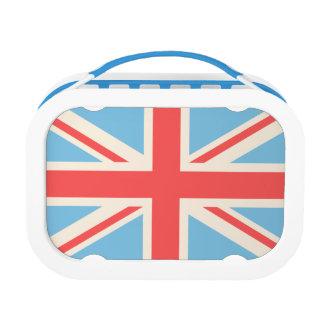 Bandera de unión/crema del diseño de Jack, azul