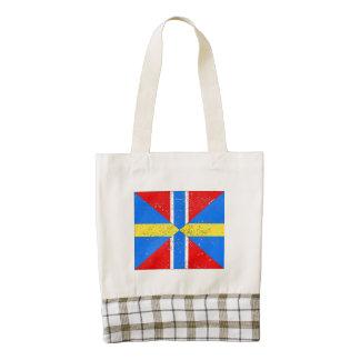 Bandera de unión de Suecia Noruega (apenada) Bolsa Tote Zazzle HEART