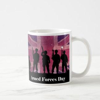 Bandera de unión del día de fuerzas armadas de arm