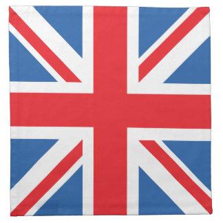 Bandera de unión/diseño de Jack Servilletas De Papel