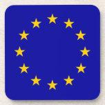 Bandera de unión europea de E. - Posavasos