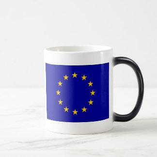 Bandera de unión europea de E. - Tazas De Café