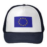 Bandera de unión europea gorra