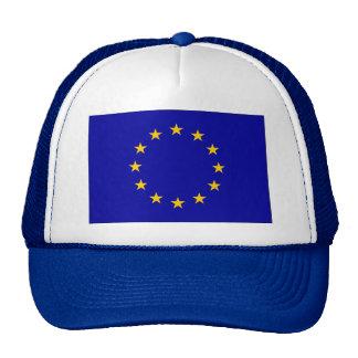 Bandera de unión europea gorro