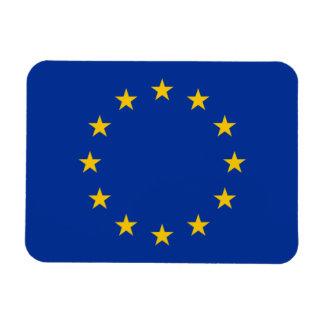 Bandera de unión europea iman rectangular