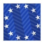 Bandera de unión europea impresión de lienzo