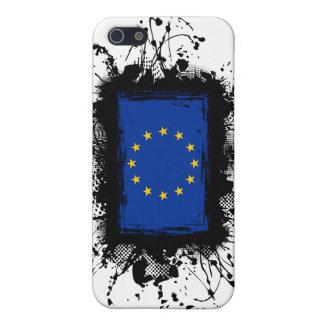 Bandera de unión europea iPhone 5 carcasa
