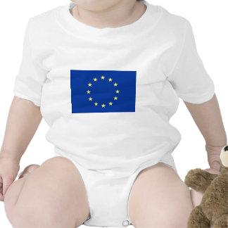 bandera de unión europea camiseta
