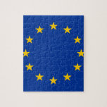 bandera de unión europea rompecabezas con fotos