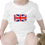 Bandera de Union Jack Británicos Camisetas
