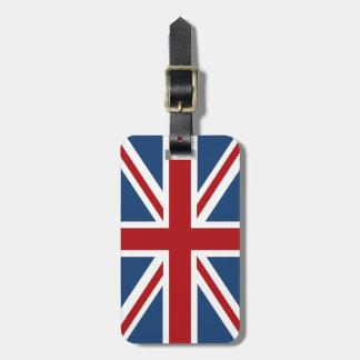 Bandera de Union Jack Británicos Etiquetas Para Maletas