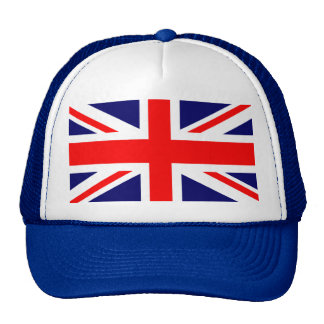 Bandera de Union Jack Británicos Gorros