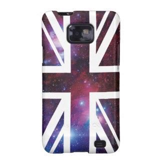 Bandera de Union Jack Británicos Reino Unido de Samsung Galaxy SII Funda