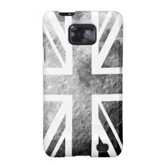 Bandera de Union Jack Británicos Reino Unido de Galaxy S2 Funda