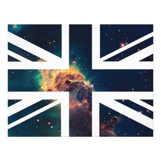 Bandera de Union Jack Británicos (Reino Unido) de  Membrete A Diseño