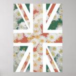 Bandera de Union Jack Británicos (Reino Unido) de  Posters