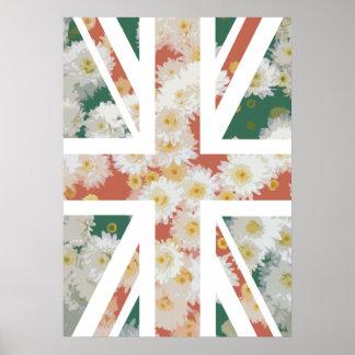 Bandera de Union Jack Británicos Reino Unido de Posters