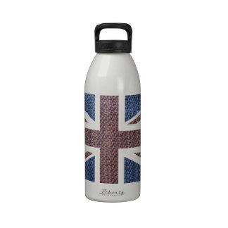 Bandera de Union Jack Británicos Reino Unido del Botella De Beber