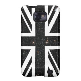 Bandera de Union Jack Británicos Reino Unido del Samsung Galaxy SII Carcasa