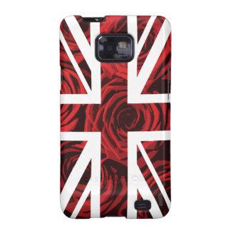 Bandera de Union Jack Británicos Reino Unido del Samsung Galaxy S2 Carcasa