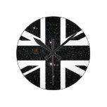 Bandera de Union Jack Británicos (Reino Unido) del Relojes De Pared