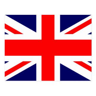 Bandera de Union Jack Británicos Postal