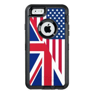 Bandera de Union Jack del americano Funda OtterBox Defender Para iPhone 6