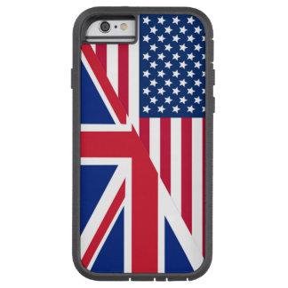 Bandera de Union Jack del americano Funda Tough Xtreme iPhone 6