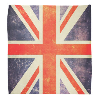 Bandera de Union Jack del vintage Bandanas
