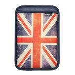 Bandera de Union Jack del vintage Funda De iPad Mini