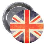 Bandera de Union Jack del vintage Pins