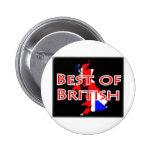 Bandera de Union Jack en el mapa - mejor de Britán Pins